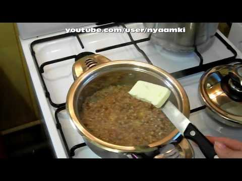 рецепт приготовления молочной гречневой каши
